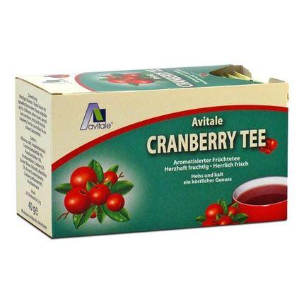 3 x Avitale Cranberry Tee, Filterbeutel