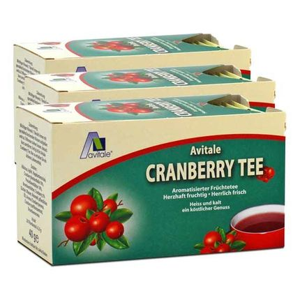 Avitale Cranberry Tee