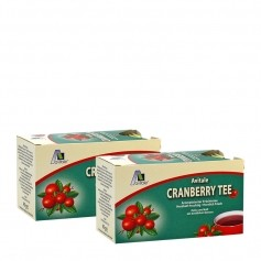 Avitale Cranberry Tee, Filterbeutel Doppelpack
