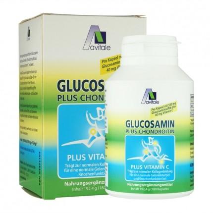 Avitale Glucosamin 500 mg + Chondroitin 400 mg, Kapseln