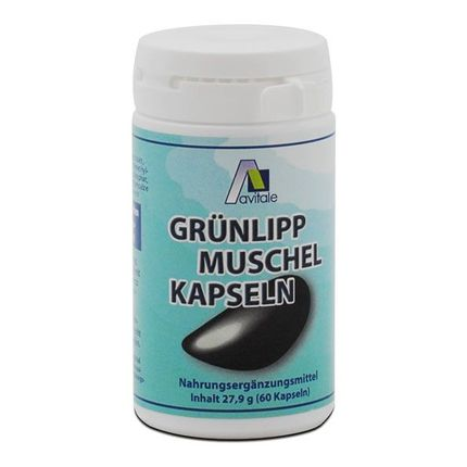 Avitale Grünlippmuschel (60 Kapseln)
