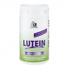 Avitale Lutein 6 mg + Blueberry Capsules