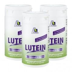 3 x Avitale Lutein Kapseln 6 mg + Heidelbeer