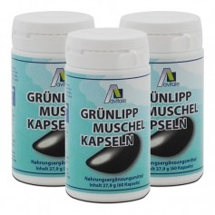 3 x Avitale Grünlippmuschel Kapseln