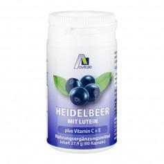 Avitale Heidelbeer + Lutein + Vitamin C + E, Kapseln