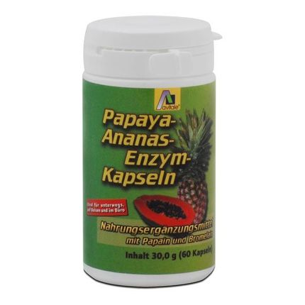 Avitale Papaya-Ananas-Enzym Kapseln