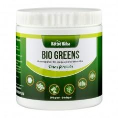 Bättre Hälsa Bio Greens Näringspulver 300 g