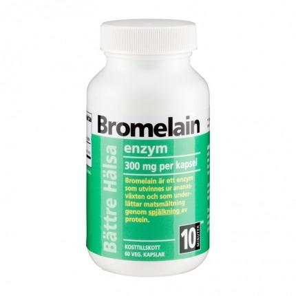 Bättre Hälsa BROMELAIN ENZYM