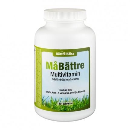 Bättre Hälsa MåBättre Multivitamin