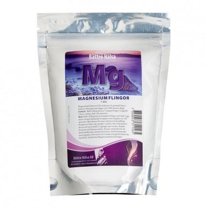Bättre Hälsa Magnesiumflingor