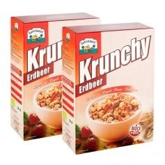 2 x Barnhouse Krunchy Erdbeere Müsli Bio