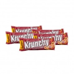 5 x Barnhouse Bio Krunchy Riegel Cranberry-Erdbeer
