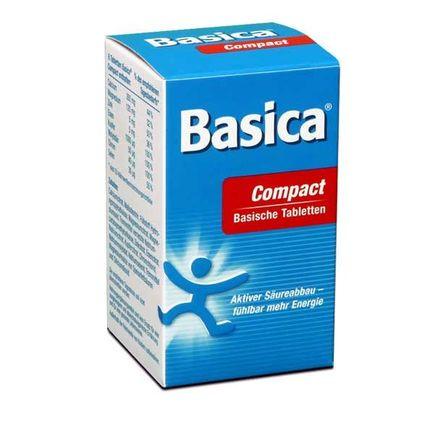 Basica Compact, Basische Mineralstoffe (120 Tabletten)