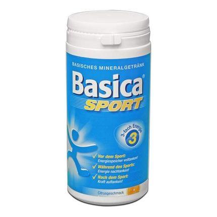Basica Sport, Basische Mineralstoffe