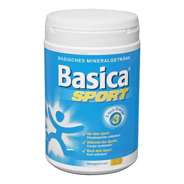 Basica Sport Powder Pioneering Sports Nutrition