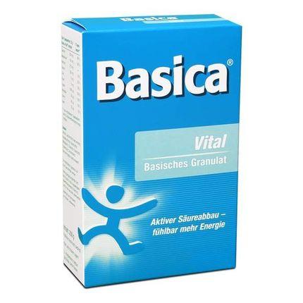 Basica Vital, Basische Mineralstoffe