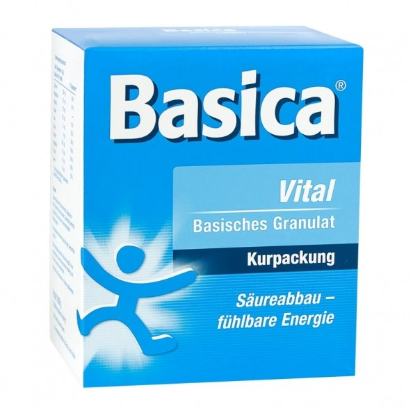 Basica Vital Pellets Minerals Promoting Optimal Health