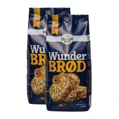 Bauckhof Bio Wunderbrød Haferflockenbrot, Backmischung