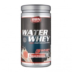 Best Body Nutrition, Hardcore Water Whey, fraise, poudre