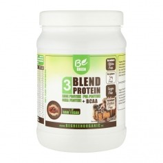 Be Green 3-Blend Protein Mousse au chocolat + BCAA