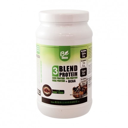 Be Green 3-Blend Protein + BCAA, Mousse au Choc...