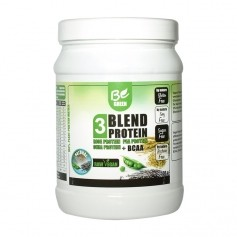 Be Green 3-Blend Protein + BCAA, Natur, Pulver