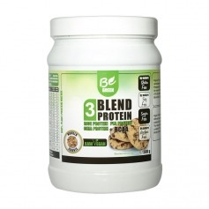 Be Green 3-Blend Protein + BCAA, Vanille-Cookie, Pulver