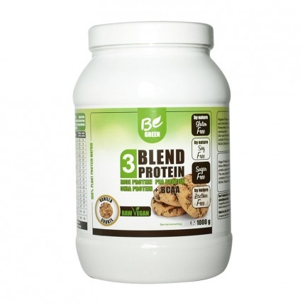 Be Green 3-Blend Protein + BCAA, Vanille-Cookie...