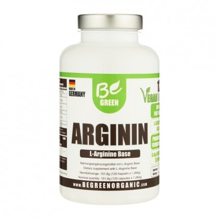 Be Green Arginin (120 Kapseln)