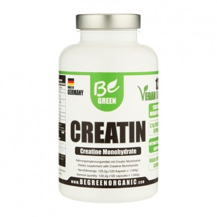 Be Green Creatin HPMC Capsules