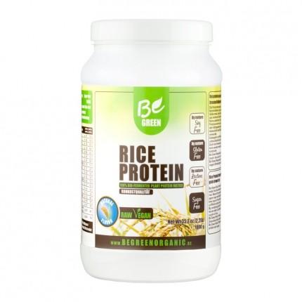 Be Green Reisprotein, Natural, Pulver