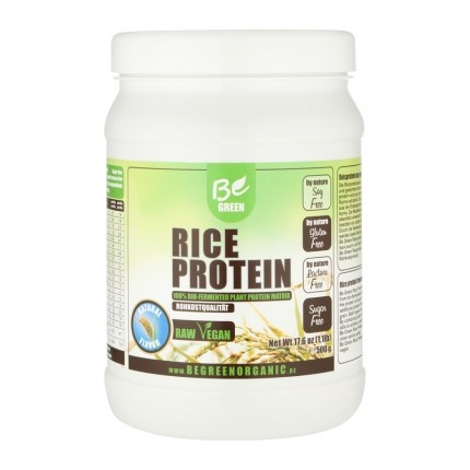 Be Green Reisprotein, Neutral, Pulver (500 g)