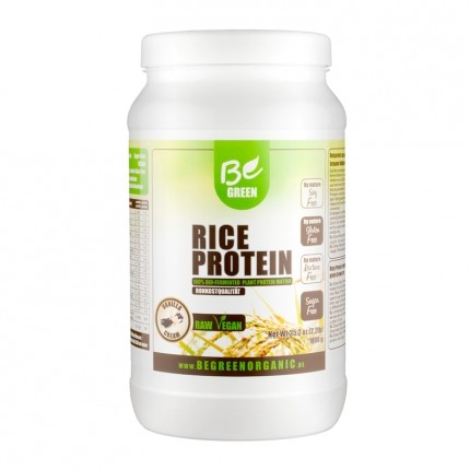 Be Green Reisprotein, Vanille, Pulver