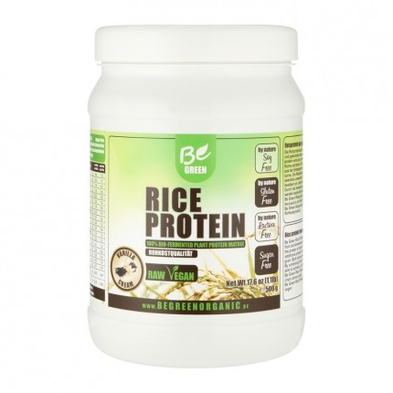 Be Green Rice Protein, Vanilla Cream, Pulver