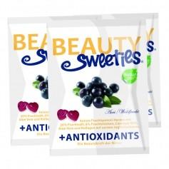 3 x BeautySweeties Fruchtgummi-Herzen Açai Waldfrucht