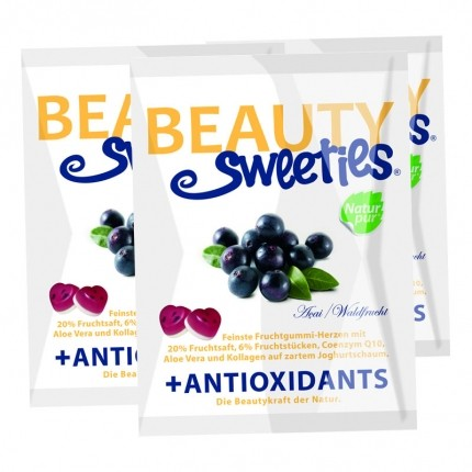 BeautySweeties Fruchtgummi-Herzen, Acai-Waldfrucht
