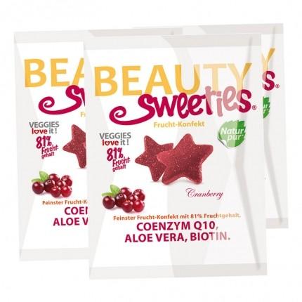 3 x BeautySweeties Frucht-Konfekt Cranberry