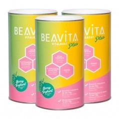 BEAVITA Vitalkost Plus, Himbeere-Joghurt, Pulver