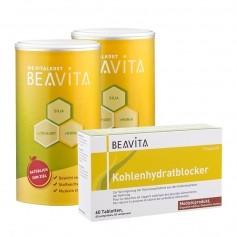 2 x BEAVITA Vitalkost + Kohlenhydratblocker