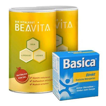 BEAVITA Ausgleich-Diät: Doppelpack Vitalkost + Basica Direkt