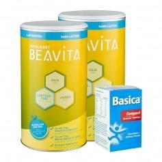 Beavita Balance Diät: Doppelpack Vitalkost + Basica Compact