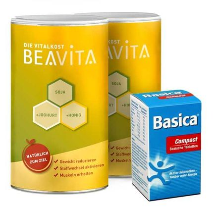 Beavita Balance Diet: Vitalkost Double Pack + Basica Compact Tablets