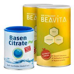 BEAVITA Basen-Diät: Doppelpack Vitalkost + Basen Citrate Pur