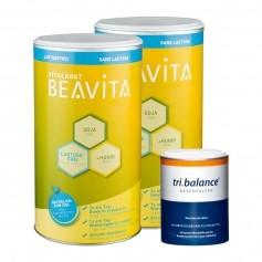 Beavita Basen-Diät: Doppelpack Vitalkost + tri.balance Basenpulver