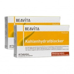 BEAVITA Kohlenhydratblocker Doppelpack, Tabletten