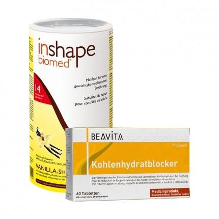 BEAVITA Kohlenhydratblocker + InShape-Biomed