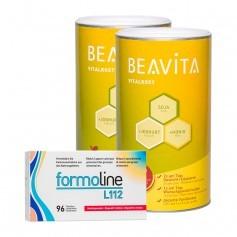 Beavita Fatbinder-Diät: Doppelpack Vitalkost + formoline Fettbinder L112