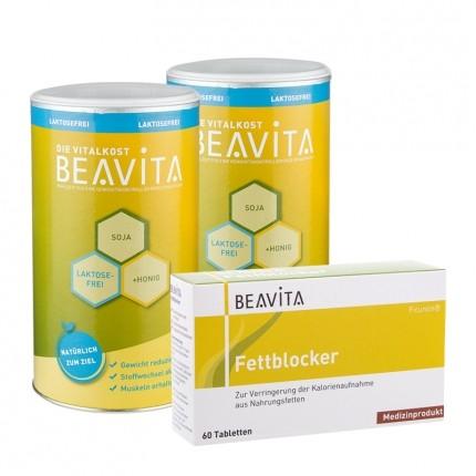 BEAVITA Doppelpack Vitalkost laktosefrei + Fett...