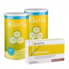 Doppelpack BEAVITA Vitalkost + Fettblocker