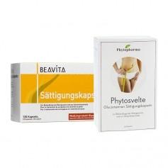 Sättigungs-Duo: Beavita Sättigungskapseln + Phytopharma Phytosvelte